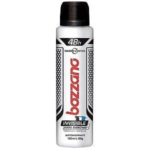 Desodorante Antitranspirante Aerosol Bozzano Masculino Invisible com 150ml
