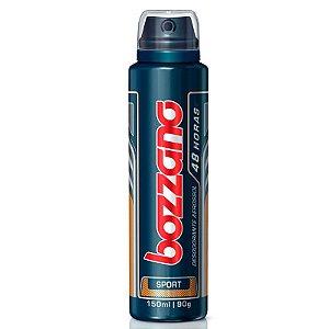 Desodorante Antitranspirante Aerosol Bozzano Masculino Sport com 150ml