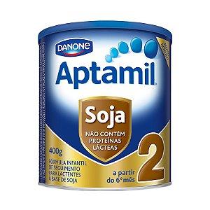 Aptamil Soja 2 com 400 Gramas