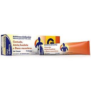 Diclofenaco Dietilamônio Gel 60 Gramas - Neo Química - Genérico