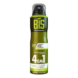 Desodorante Aerossol Bis Herbíssimo Masculino Green Leaf 150ml