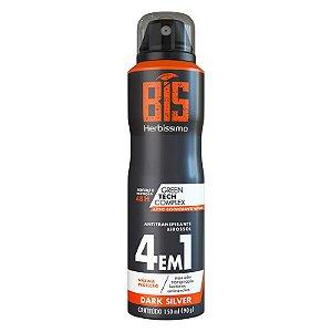 Desodorante Aerossol Bis Herbíssimo Masculino Dark Silver 150ml
