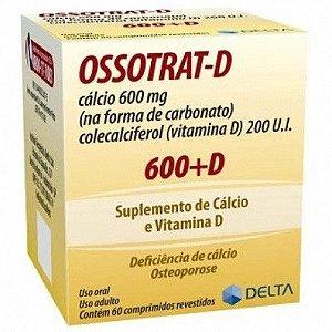 Ossotrat D - Calcio + Vitamina D3 - 60 Comprimidos