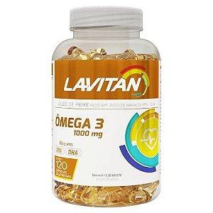 Lavitan Ômega 3 1000 mg com 120 Cápsulas