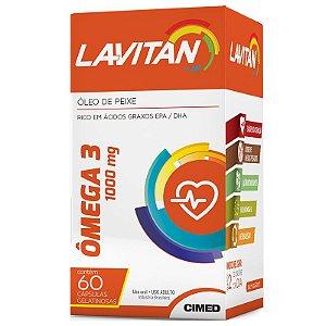 Lavitan Ômega 3 1000 mg com 60 Cápsulas