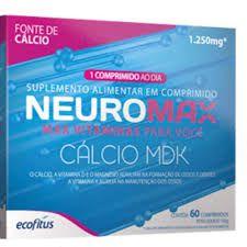 Neuromax Calcio MDK 60 Comprimidos