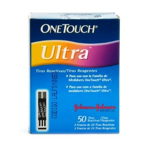 Tiras One Touch Ultra 50 Unidades