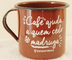 caneca café ajuda quem cedo madruga
