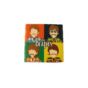 Porta copos Beatles color