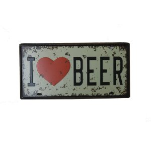 Placa Decorativa Beer