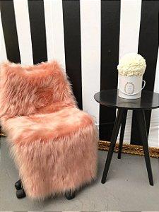 Pelego Rosê Cadeira