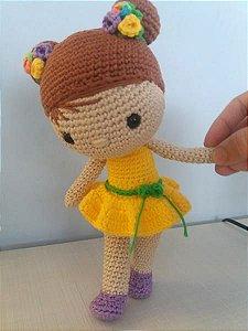 Boneca Chloe Amigurumi
