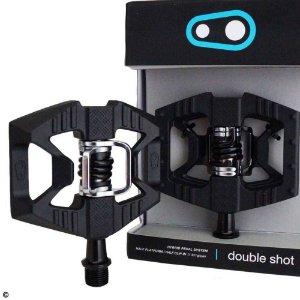 Pedal Crank Brothers Double Shot 1 Preto