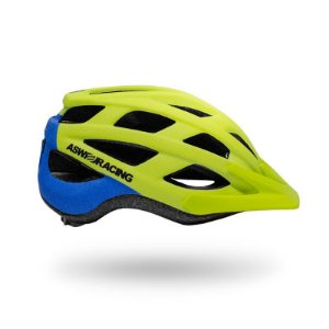 Capacete Bike Asw Fun Flúor 2018 C/ Vista Light  P/m G/gg