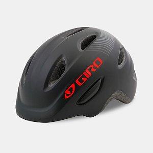 Capacete Giro Scamp 2019 Infantil Preto fosco P (49-53cm)