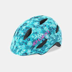 Capacete Giro Scamp 2019 Infantil Azul e Rosa  P (49-53cm)