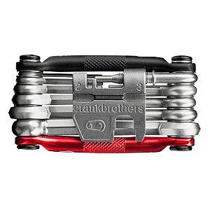 Kit Canivete Ferramenta Bike Crankbrothers Multi 17 Pto/ver