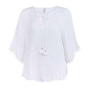 Blusa Plus Size Bata
