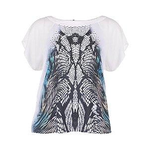 T-Shirt Plus Size  Sublimada