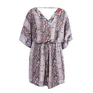 Vestido Plus Size Kimono