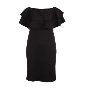 Vestido Plus Size Mid Babados