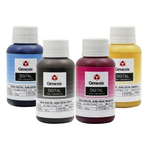 Tinta Sublimatica Gênesis 100ml Kit 4 cores