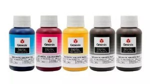 Tinta Sublimatica 100ml Kit c/ 5 unidades