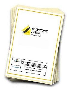 Papel Sublimatico Solucione-Paper  A4 90grs c/100 folhas (Tratado-Fundo Amarelo)