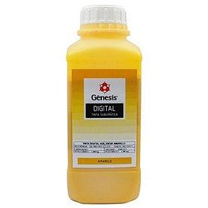 Tinta Sublimatica Sublidesk Gênesis 1 Litro Amarelo