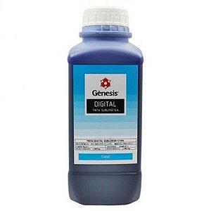 Tinta Sublimatica Sublidesk Gênesis 1 Litro Azul