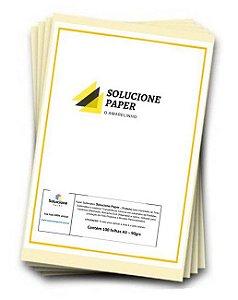 Papel Sublimatico Solucione-Paper A3 90grs c/100 folhas (Tratado-Fundo Amarelo)