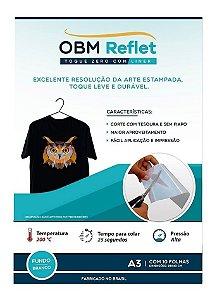 OBM Toque Zero Reflet c/Liner A3 c/10 folhas Branco