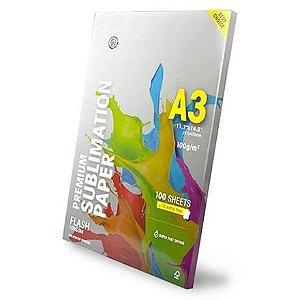 Papel Sublimático Globinho Mundi Premium A3 c/ 500 folhas
