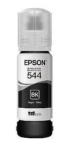 Refil Tinta Epson T544 Original L3110 L3150 Preto