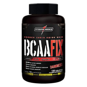 BCAA Fix Darkness - 120Tabs - Integralmédica