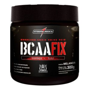 BCAA Fix Powder Darkness - 300g - Integralmédica
