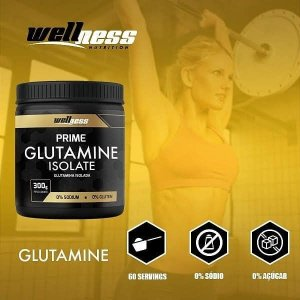 Glutamina Isolate 300g - Wellness Nutrition