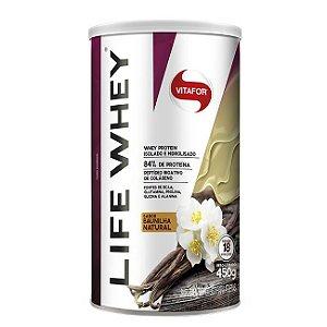 Life Whey Baunilha 450g - Vitafor