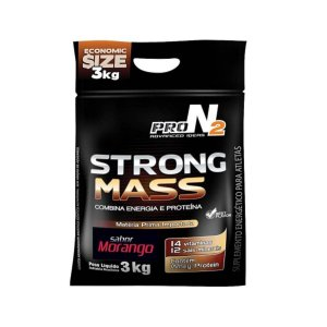 Hipercálorico - Strong Mass - 3kg - Pronutrition ProN2