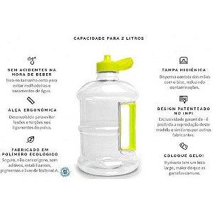 Garrafa Squeeze - 2 Litros - Hydracta