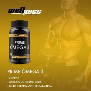 Ômega 3 -120 caps - Wellness Nutrition