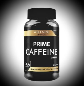 CAFFEINE- 120 CAPS - WELLNESS NUTRITION