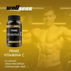 VITAMINA C (120 caps) - WELLNESS NUTRITION