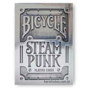 Baralho Bicycle Steampunk Silver