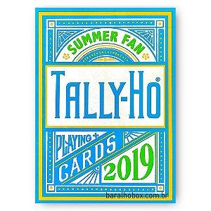 Baralho Tally-Ho Summer 2019 - Fan Back