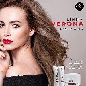 Kit Verona - Hidratação e redução do frizz para cabelos quimicamente danificados