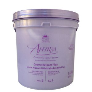 Affirm Creme alisante Hidróxido de Sódio Normal Plus 1,8 Kg