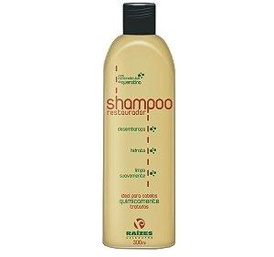 Shampoo Restaurador Raizes Salao Afro 300ml