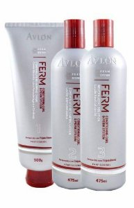 Permanente Afro Ferm Avlon Kit 1.500ml