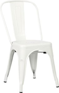 Cadeira Francesinha Iron Estilo Industrial Branca